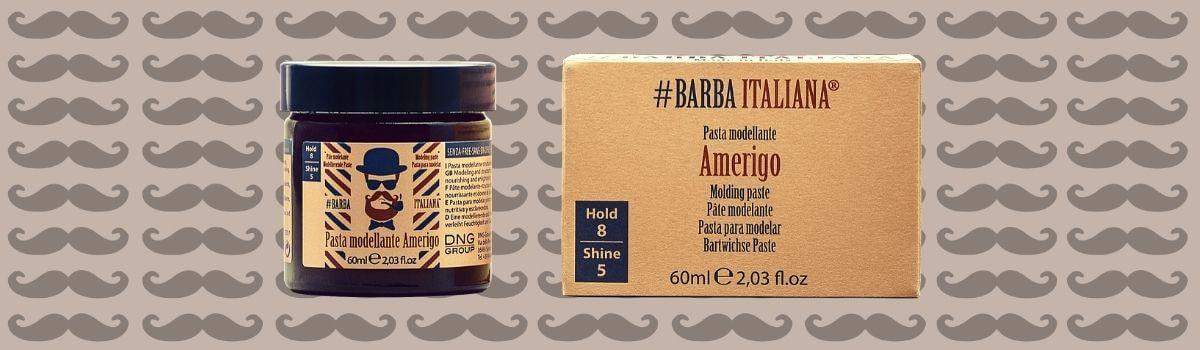 #Barba Italiana Amerigo formázó paszta bajuszra és szakállra
