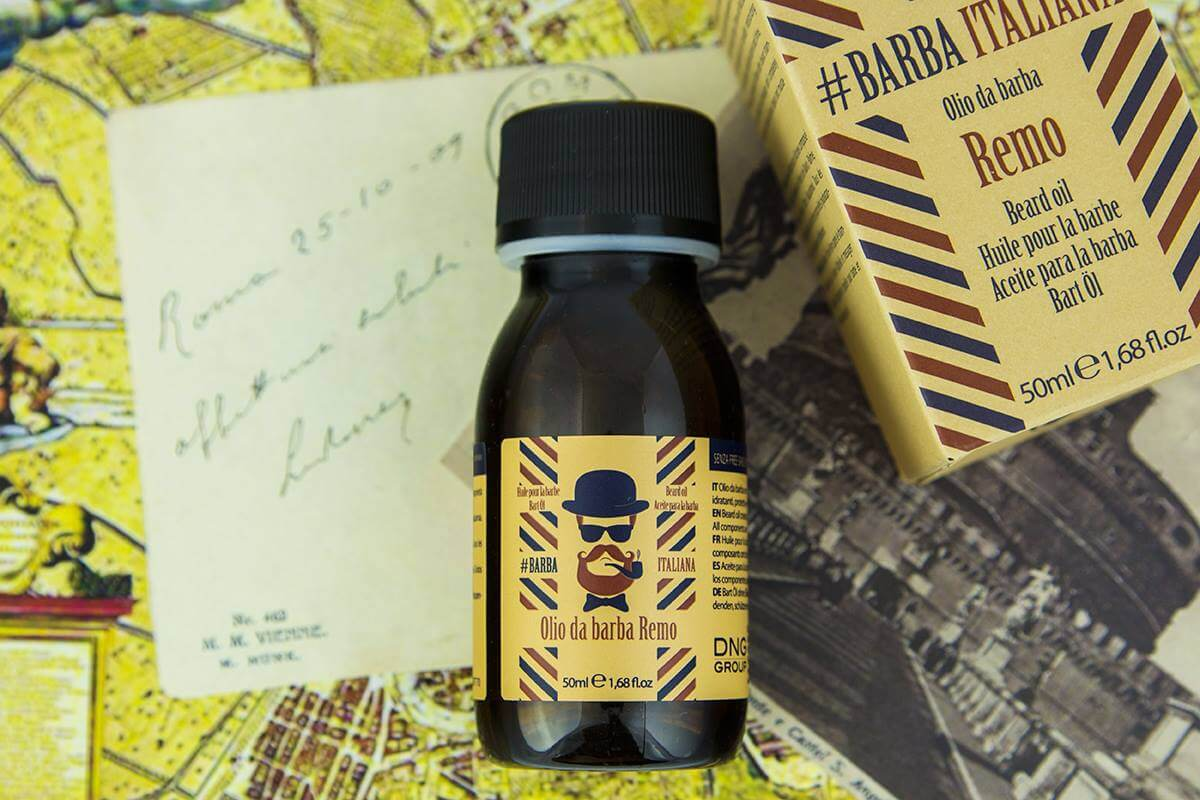 #Barba Italiana Remo szakállápoló olaj
