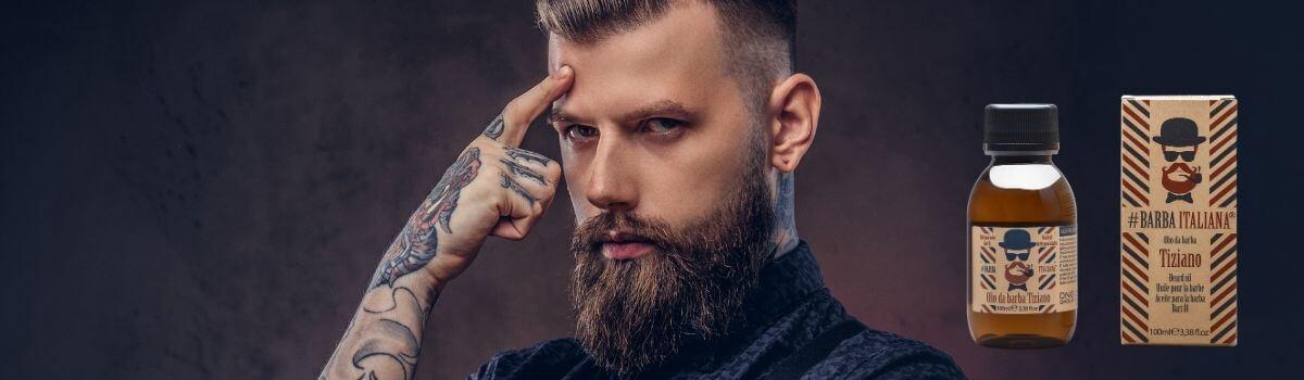 #Barba Italiana Tiziano szakállolaj