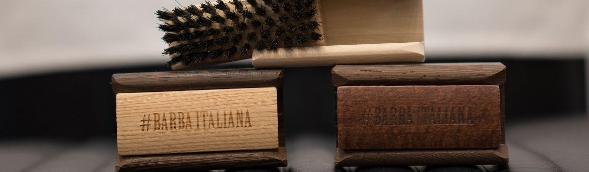 #Barba Italiana Solengo szakállápoló kefe