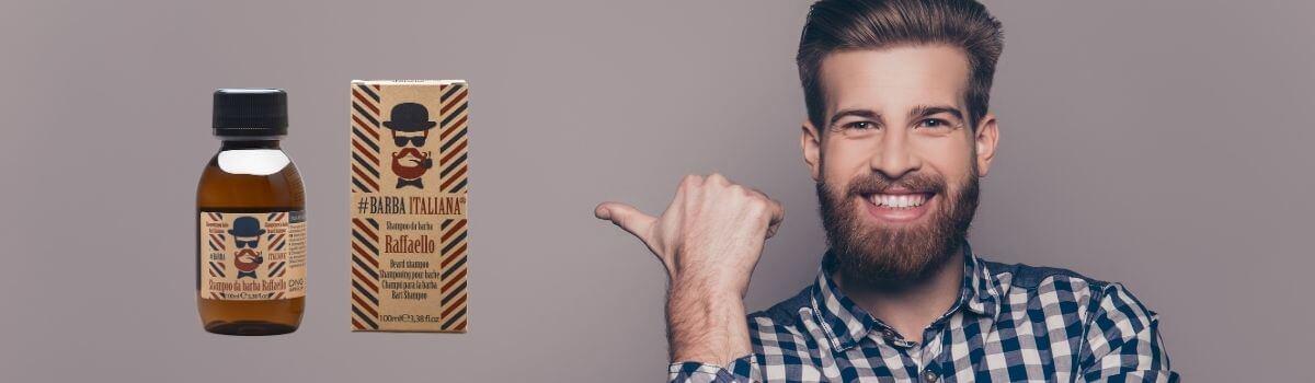 #Barba Italiana Raffaello szakállápoló sampon