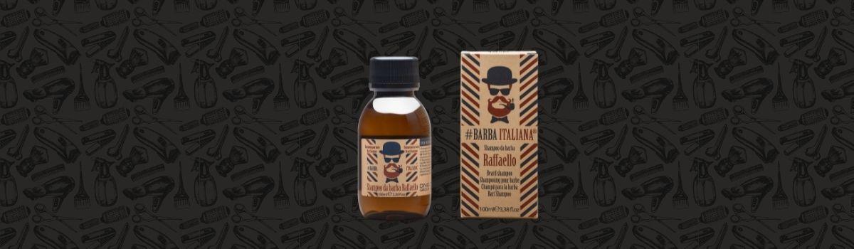 #Barba Italiana Raffaello szakállsampon az ápolt szakállért