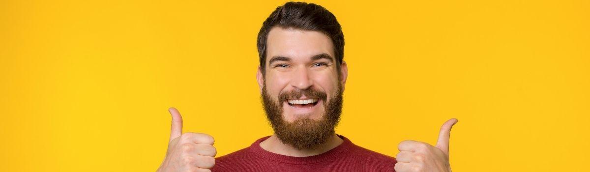 A szakállnövesztő szerek segítenek abban, hogy dús legyen az arcszőrzeted